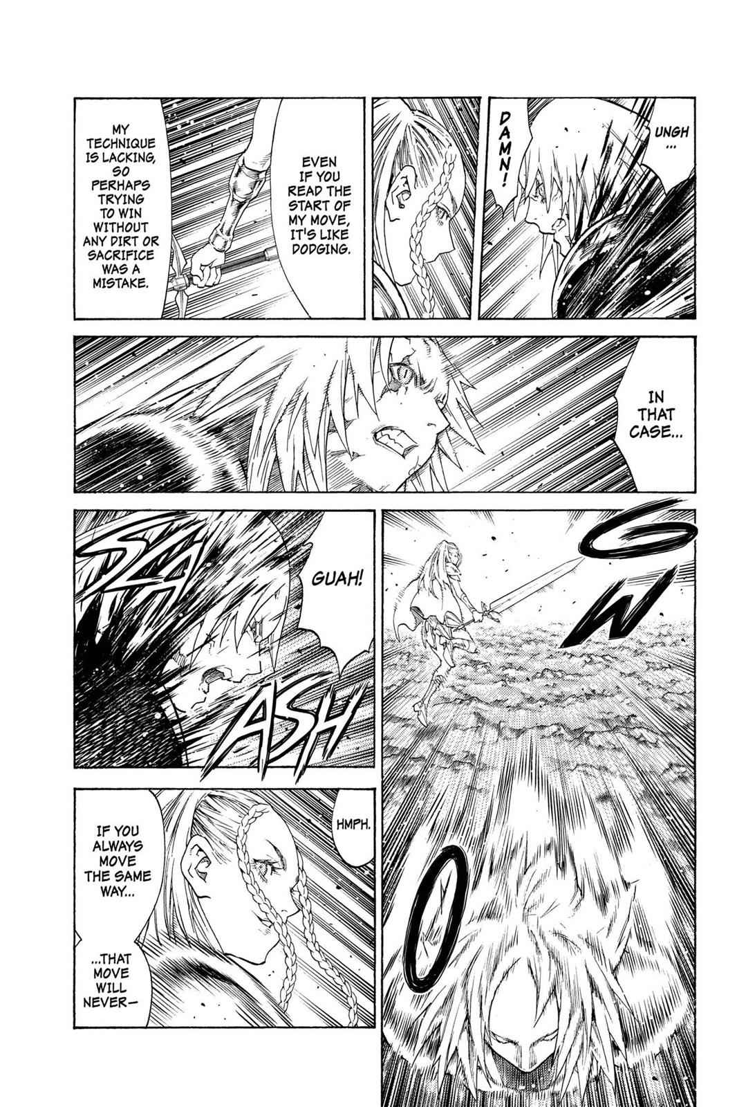 Claymore Chapter 120 Page 21