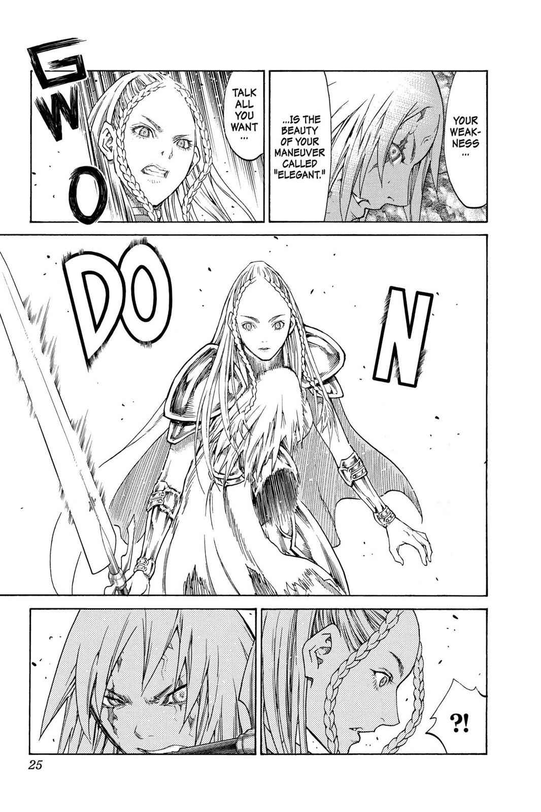 Claymore Chapter 120 Page 24