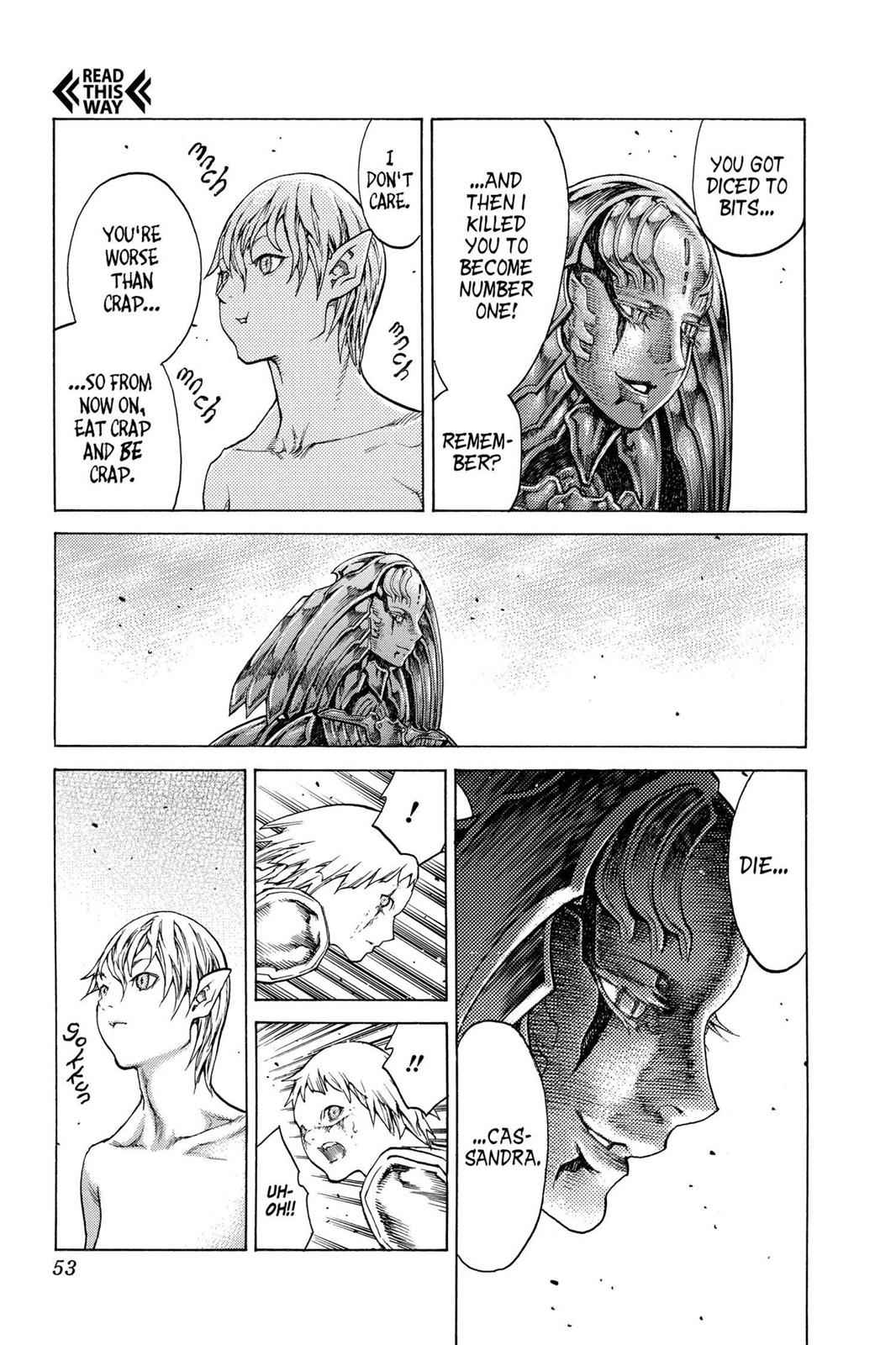 Claymore Chapter 121 Page 14