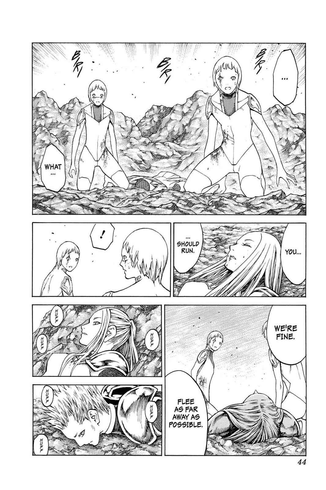 Claymore Chapter 121 Page 6