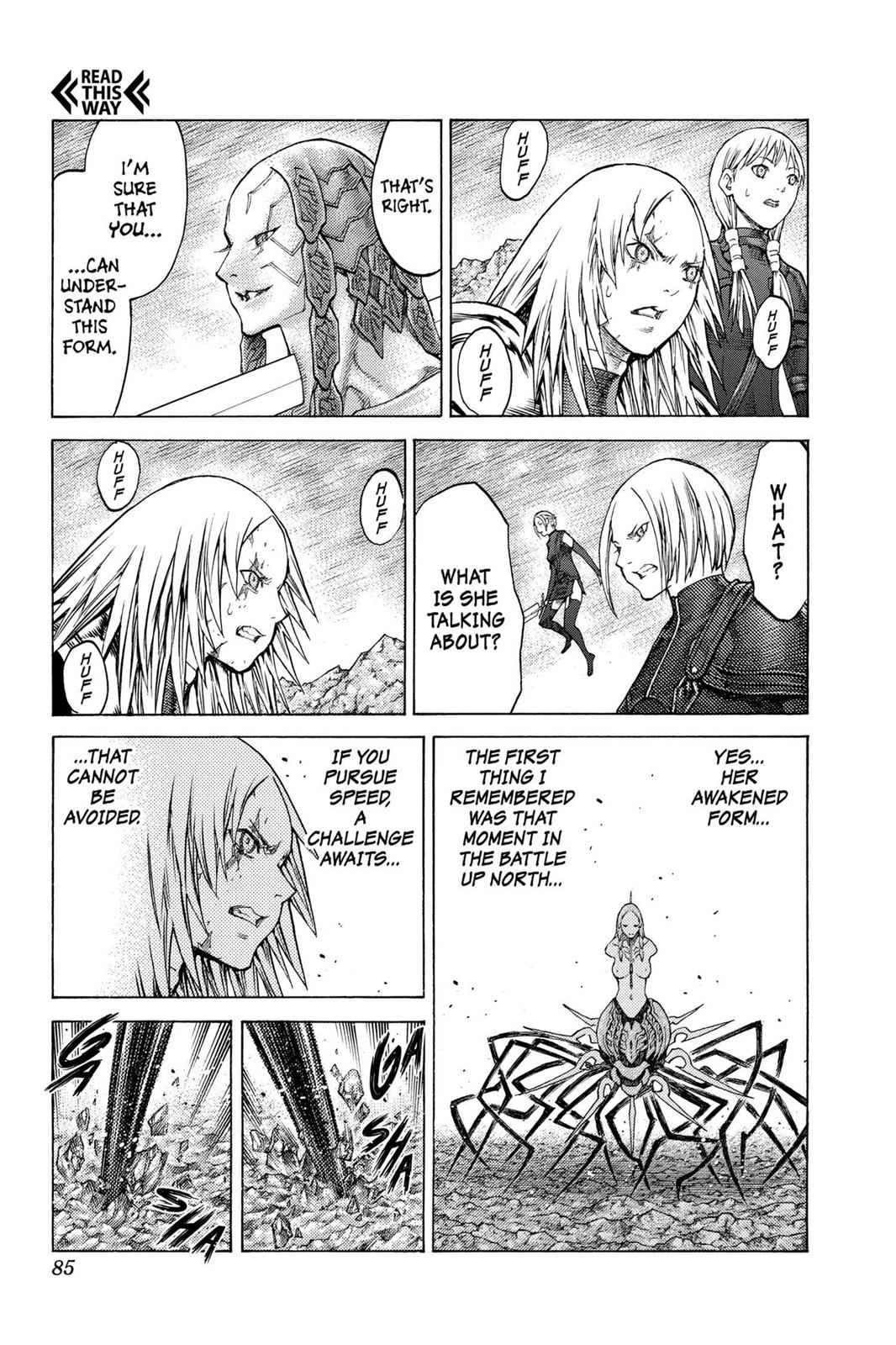 Claymore Chapter 122 Page 13