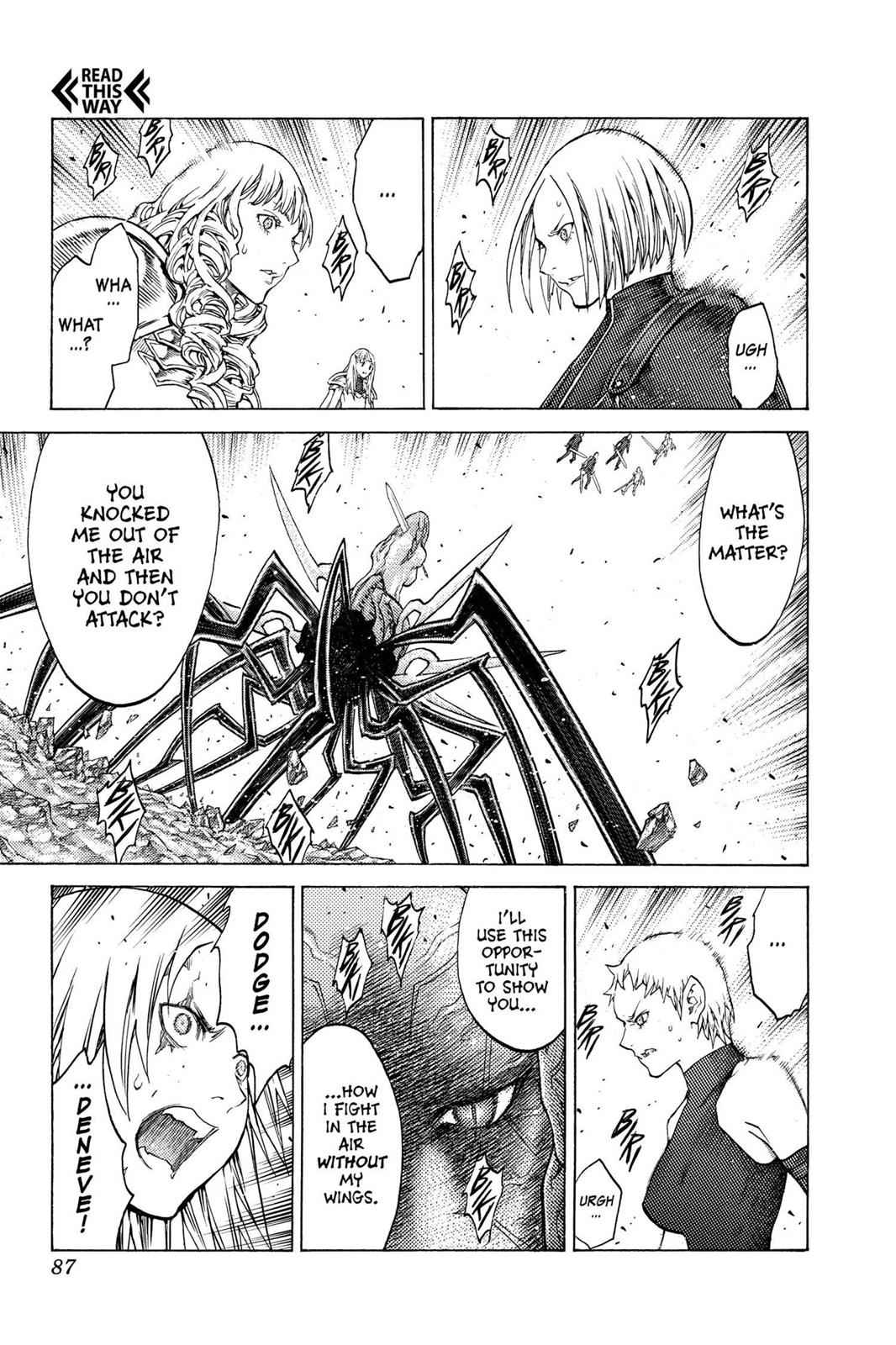 Claymore Chapter 122 Page 15