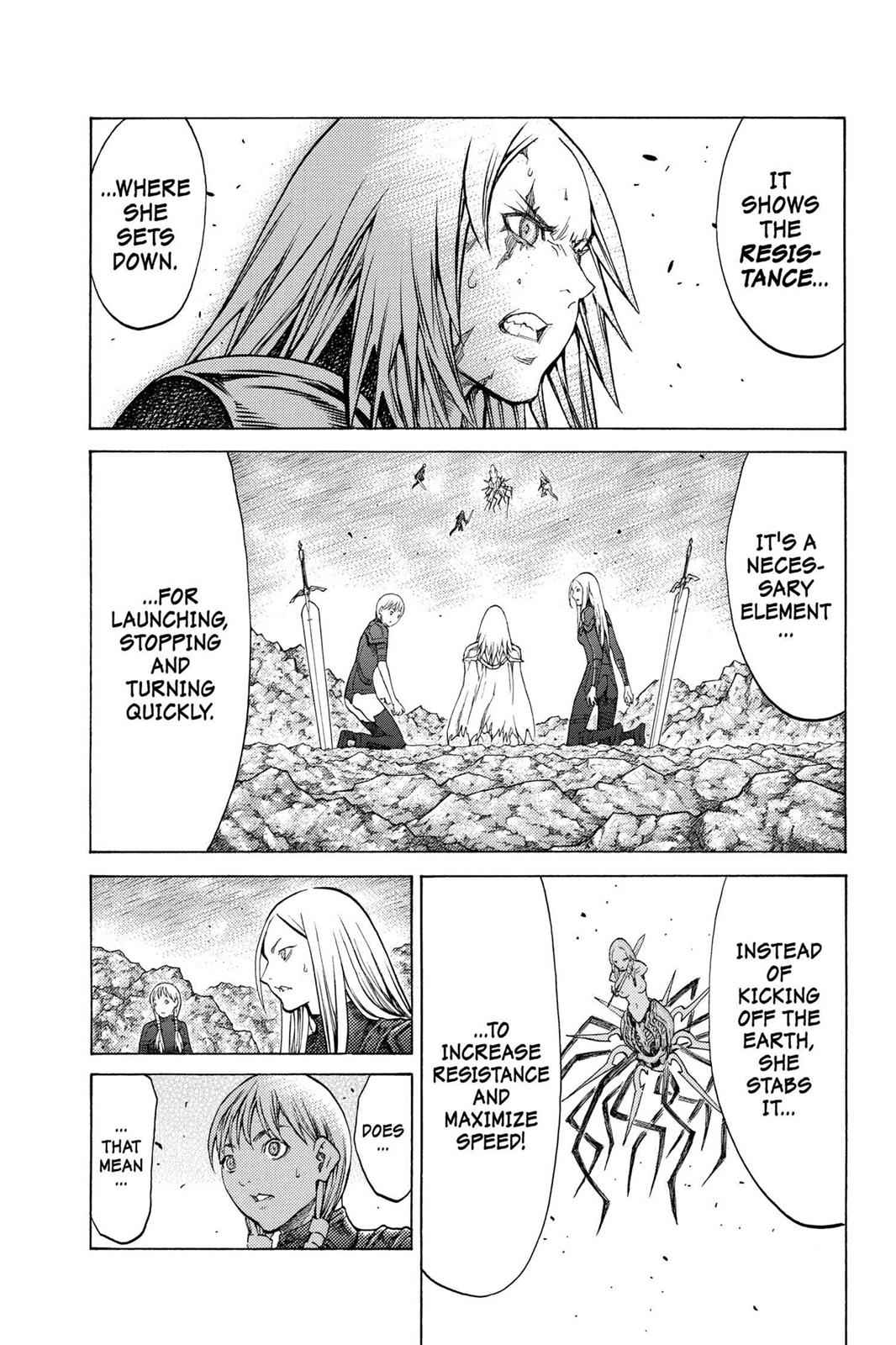 Claymore Chapter 122 Page 19