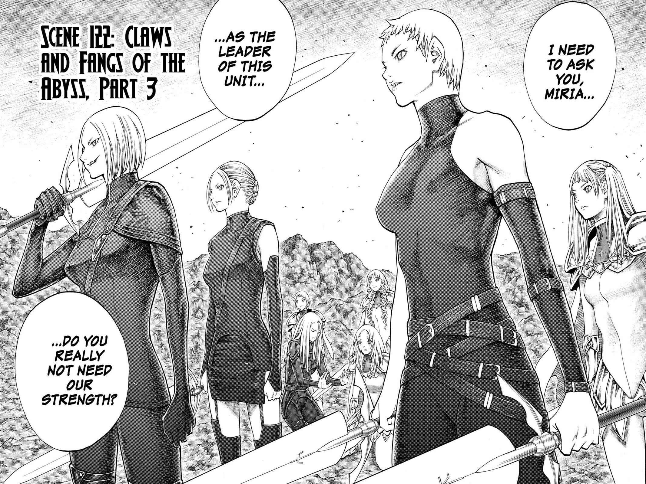 Claymore Chapter 122 Page 2