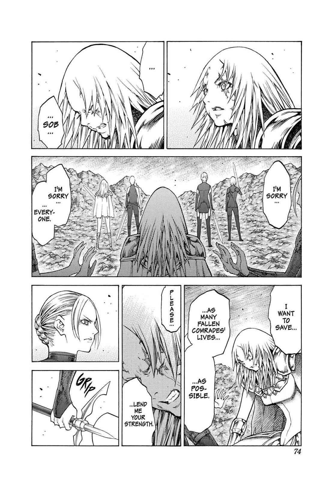Claymore Chapter 122 Page 3