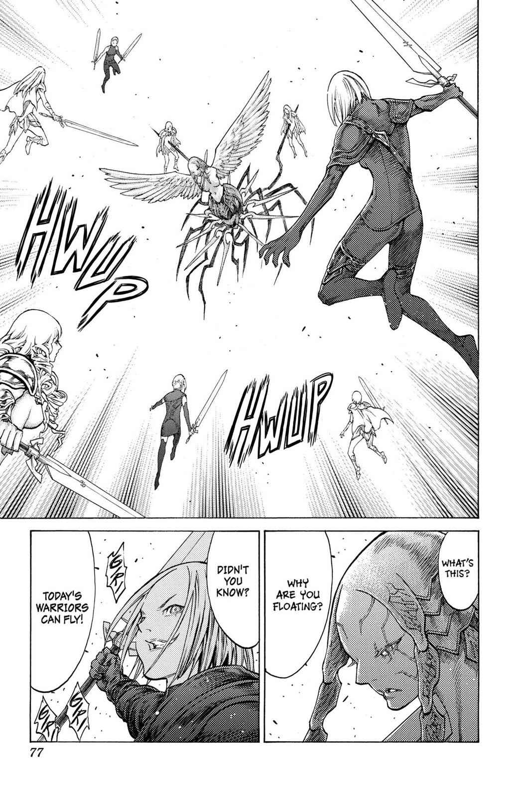 Claymore Chapter 122 Page 6