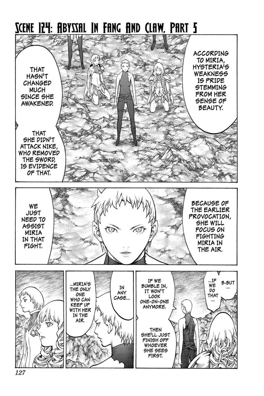 Claymore Chapter 124 Page 1