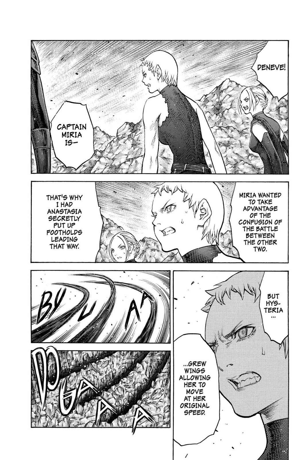 Claymore Chapter 124 Page 13