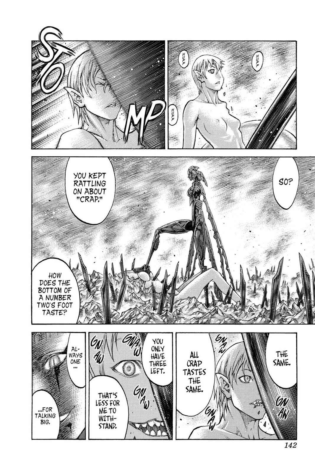 Claymore Chapter 124 Page 15