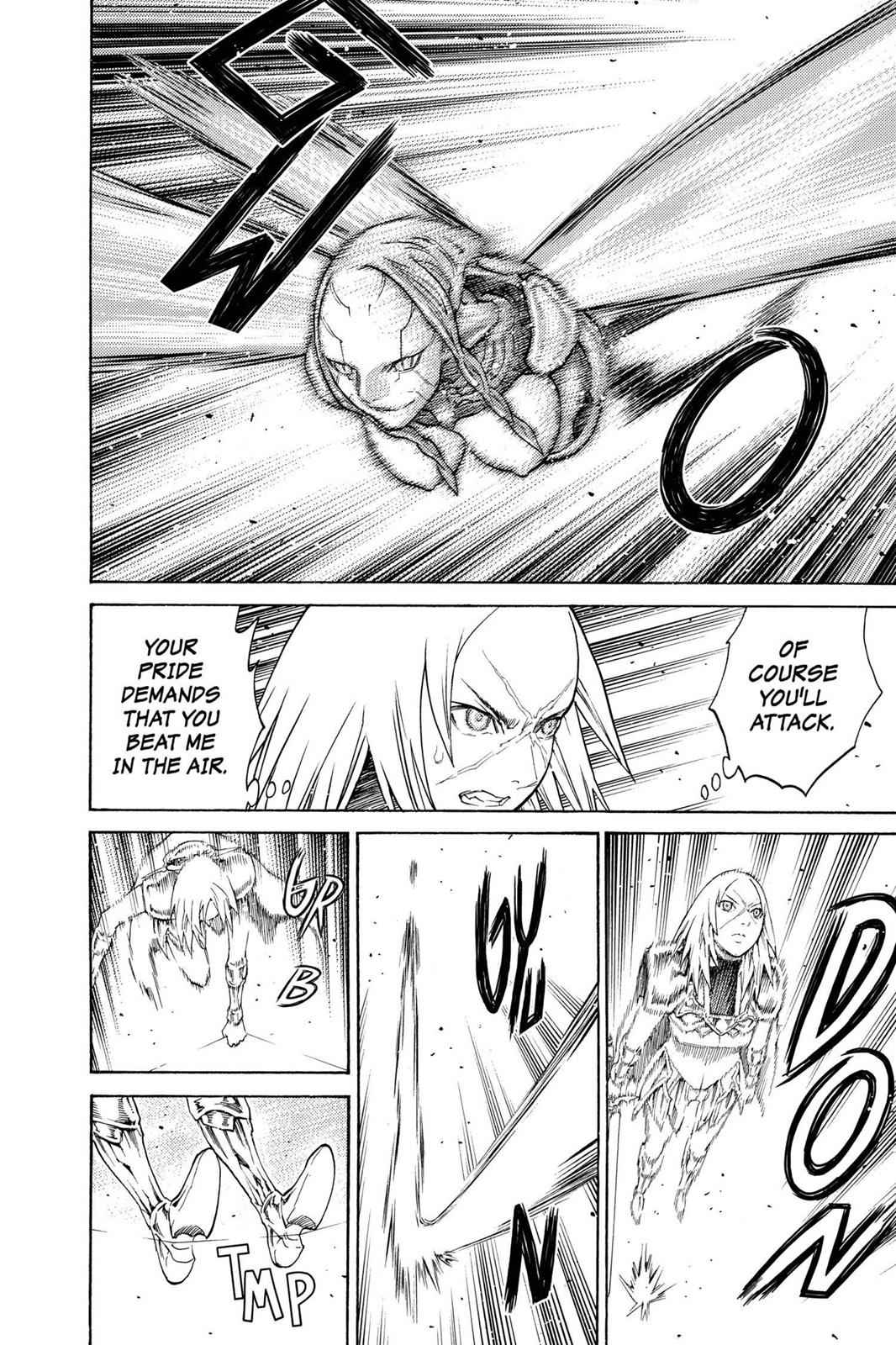 Claymore Chapter 124 Page 21