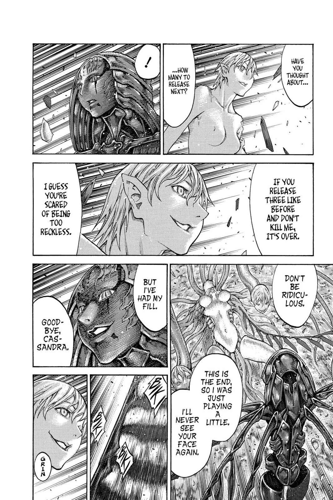 Claymore Chapter 124 Page 24