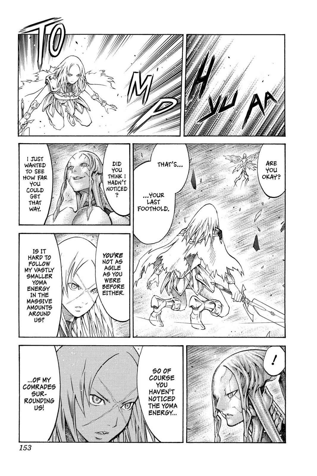 Claymore Chapter 124 Page 25