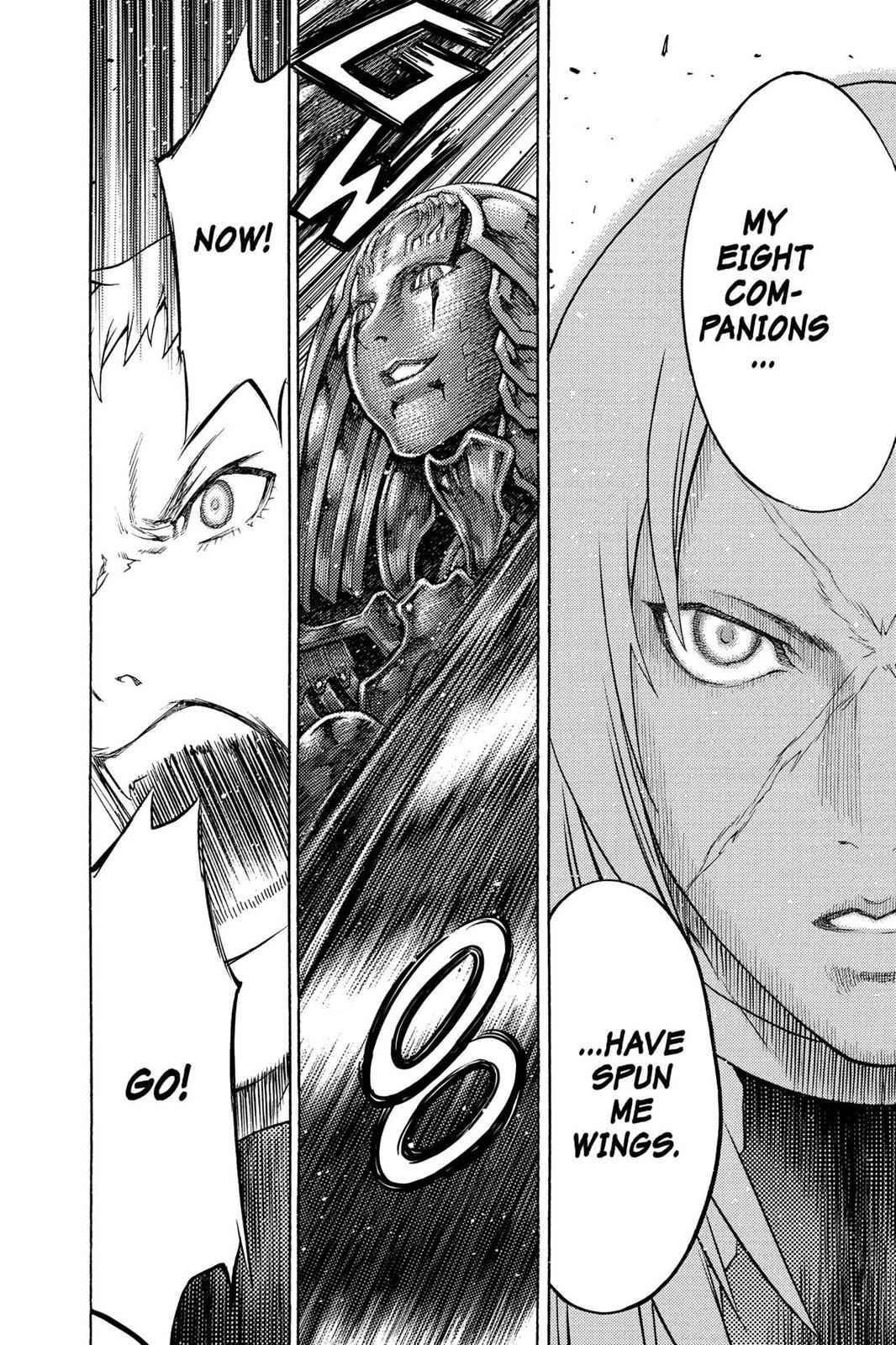 Claymore Chapter 124 Page 28