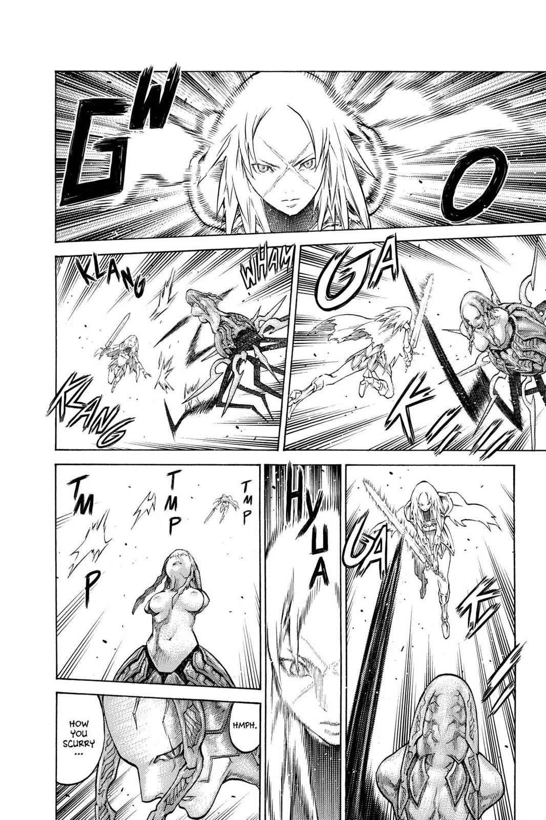 Claymore Chapter 124 Page 3