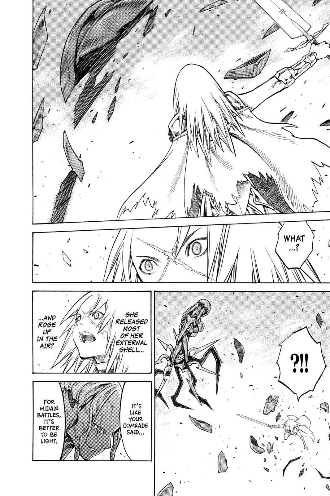 Claymore Chapter 124 Page 7