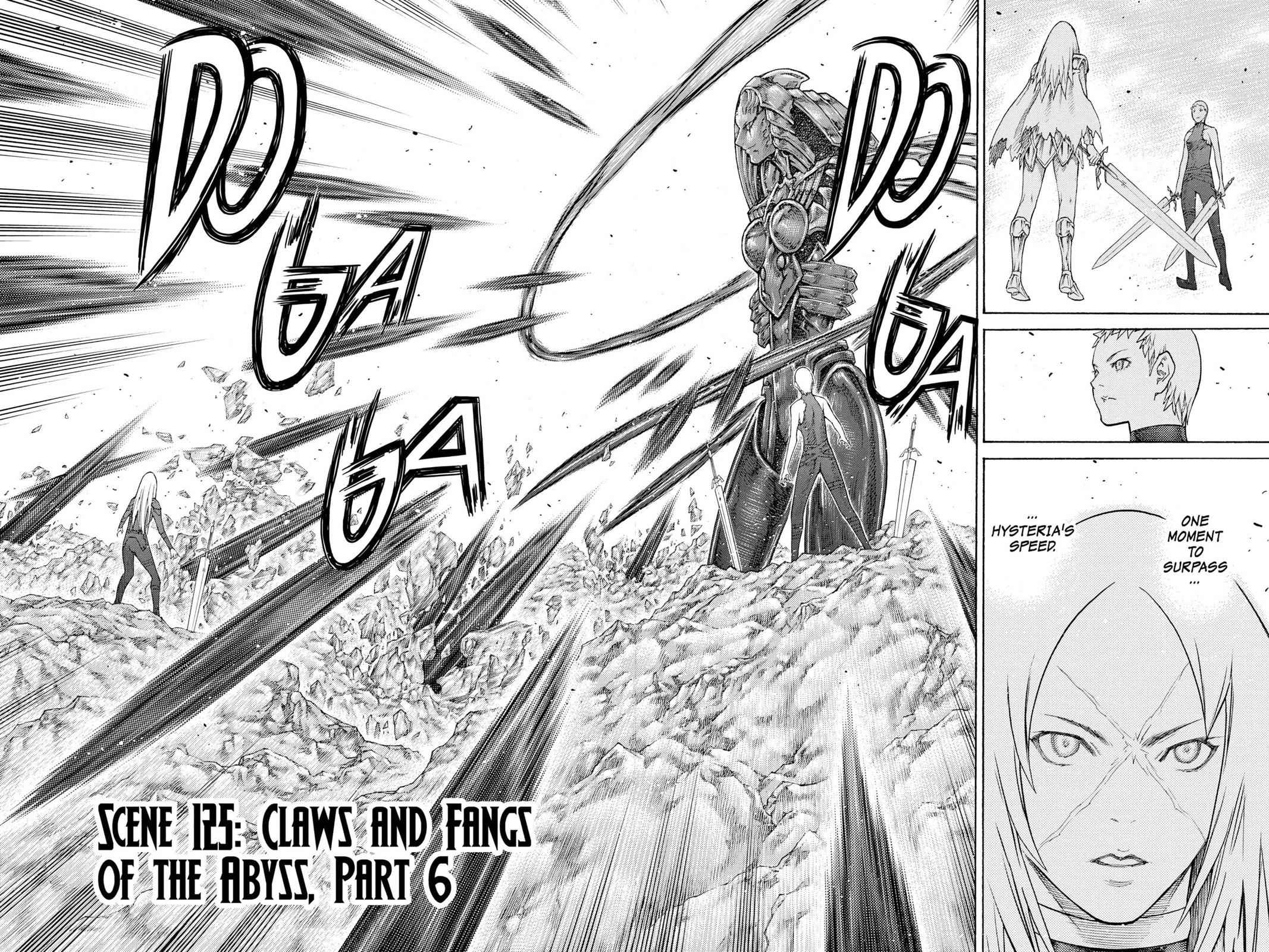 Claymore Chapter 125 Page 2