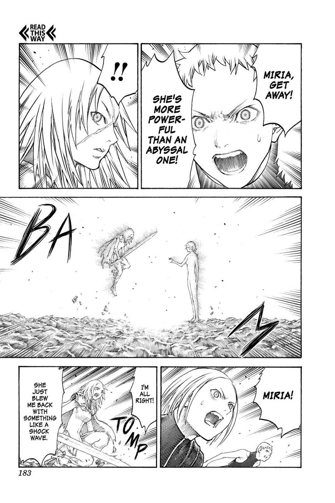 Claymore Chapter 125 Page 21