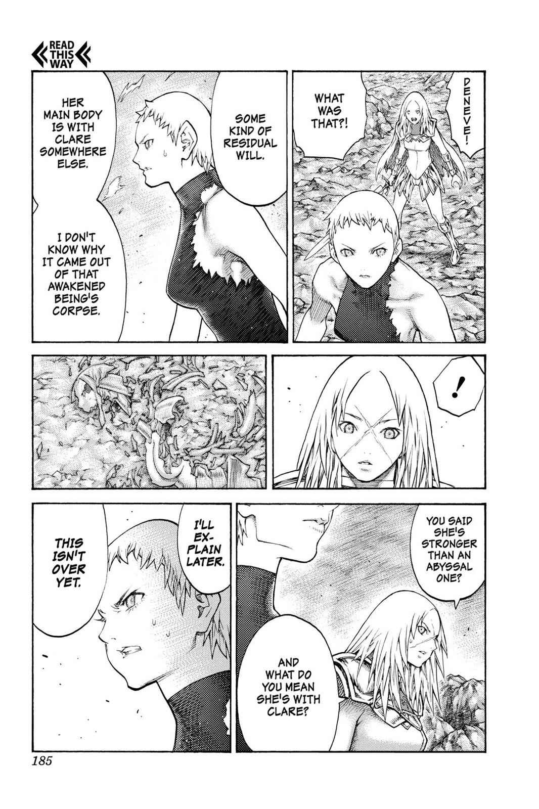 Claymore Chapter 125 Page 23