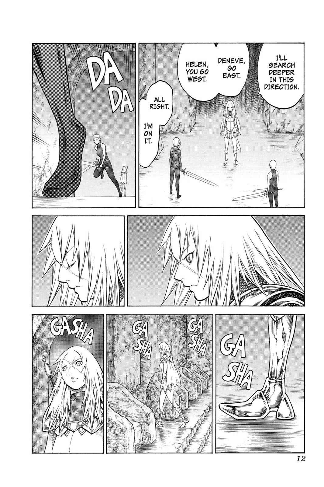 Claymore Chapter 126 Page 11