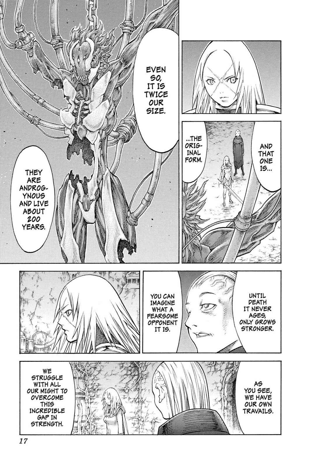 Claymore Chapter 126 Page 15