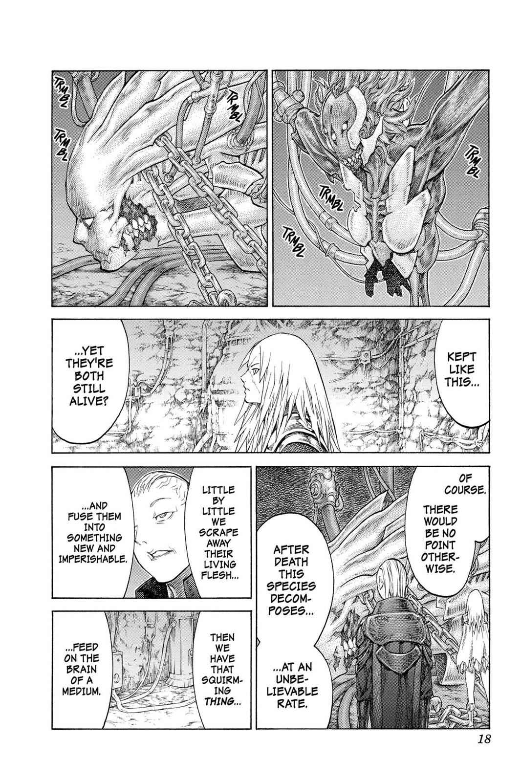 Claymore Chapter 126 Page 16