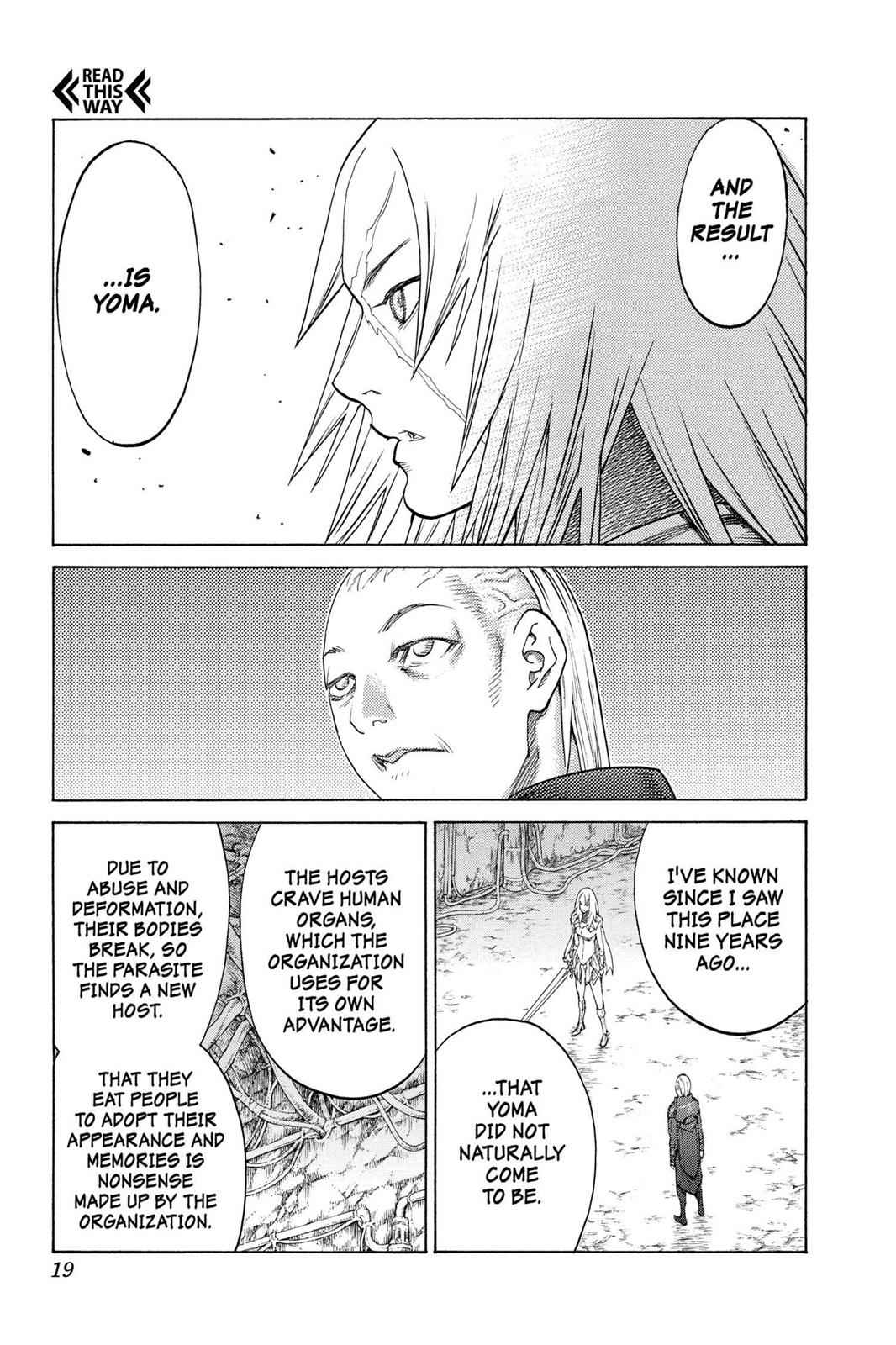 Claymore Chapter 126 Page 17