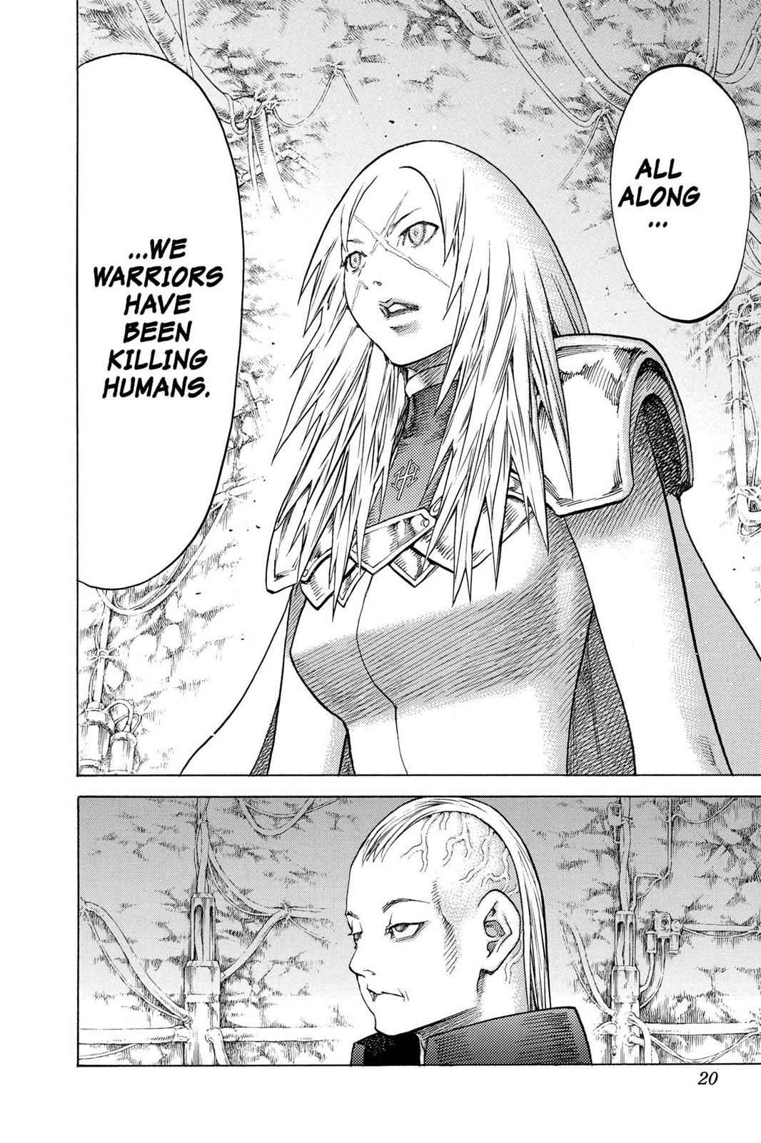 Claymore Chapter 126 Page 18