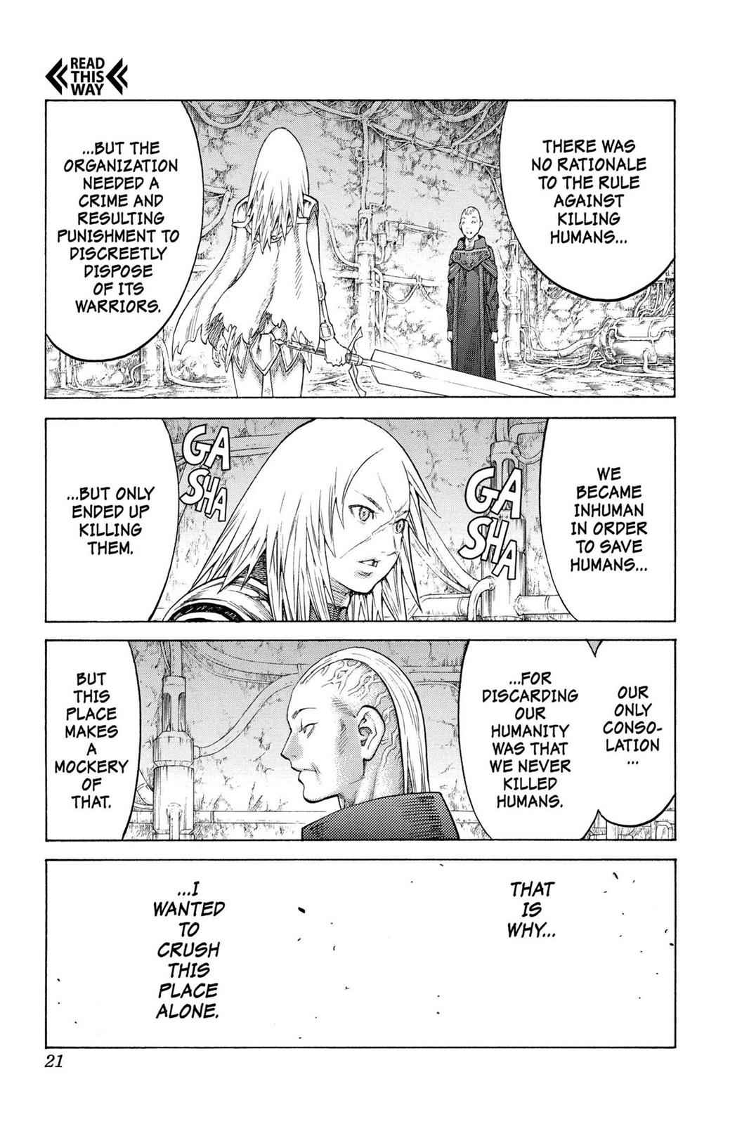 Claymore Chapter 126 Page 19