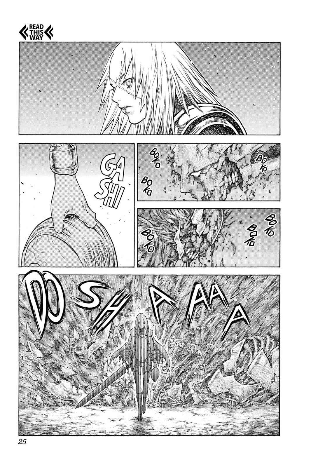 Claymore Chapter 126 Page 22