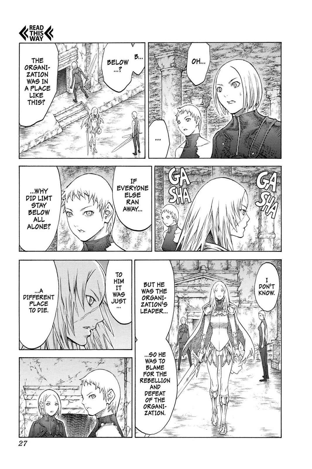 Claymore Chapter 126 Page 24