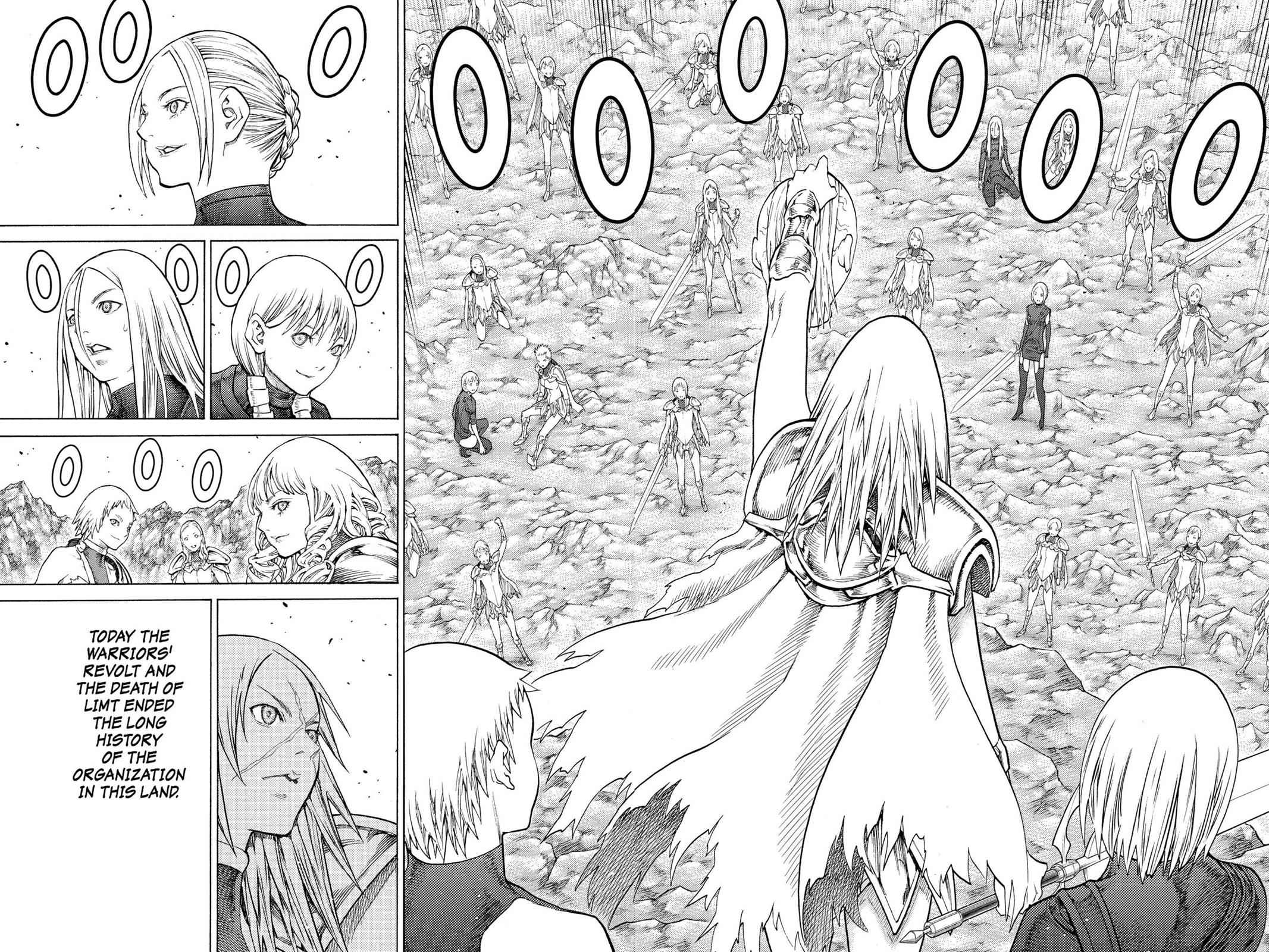 Claymore Chapter 126 Page 27