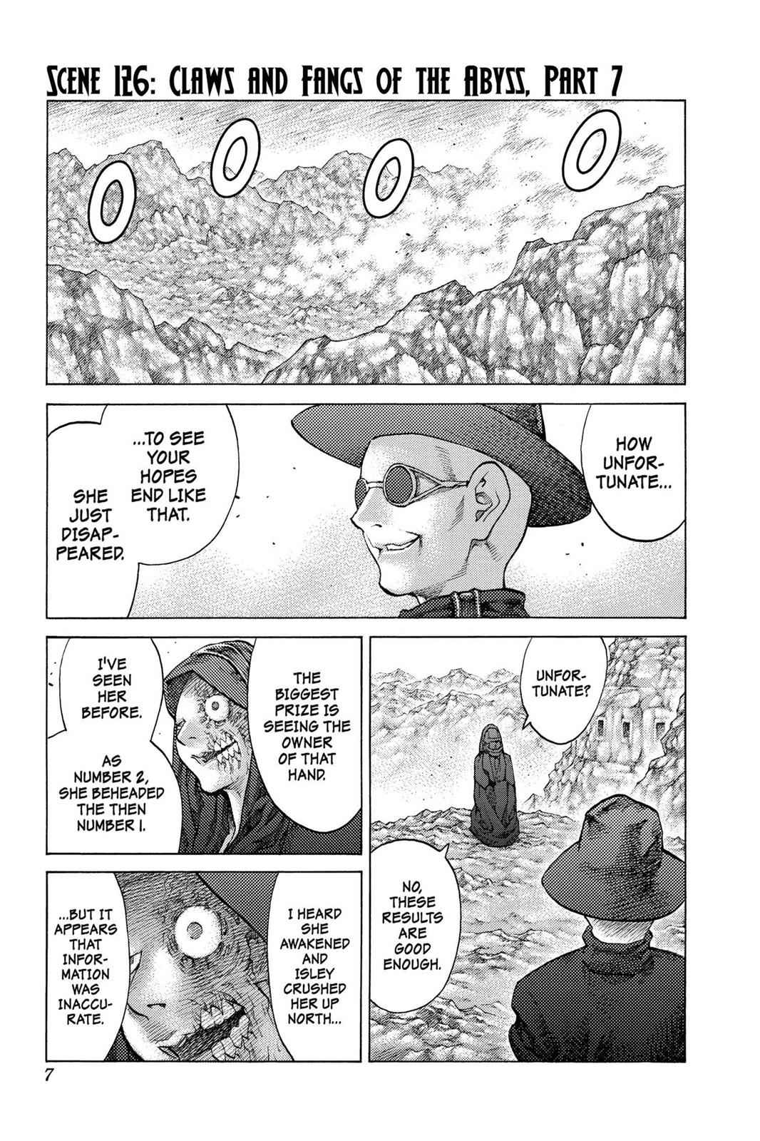 Claymore Chapter 126 Page 7