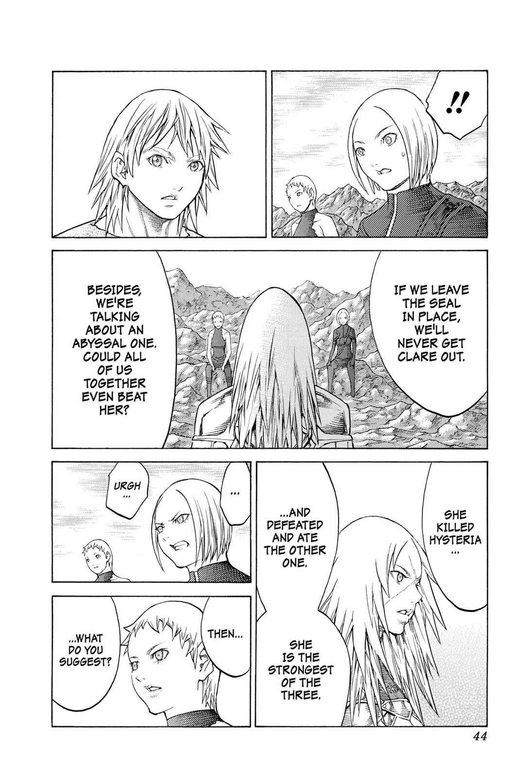 Claymore Chapter 127 Page 11