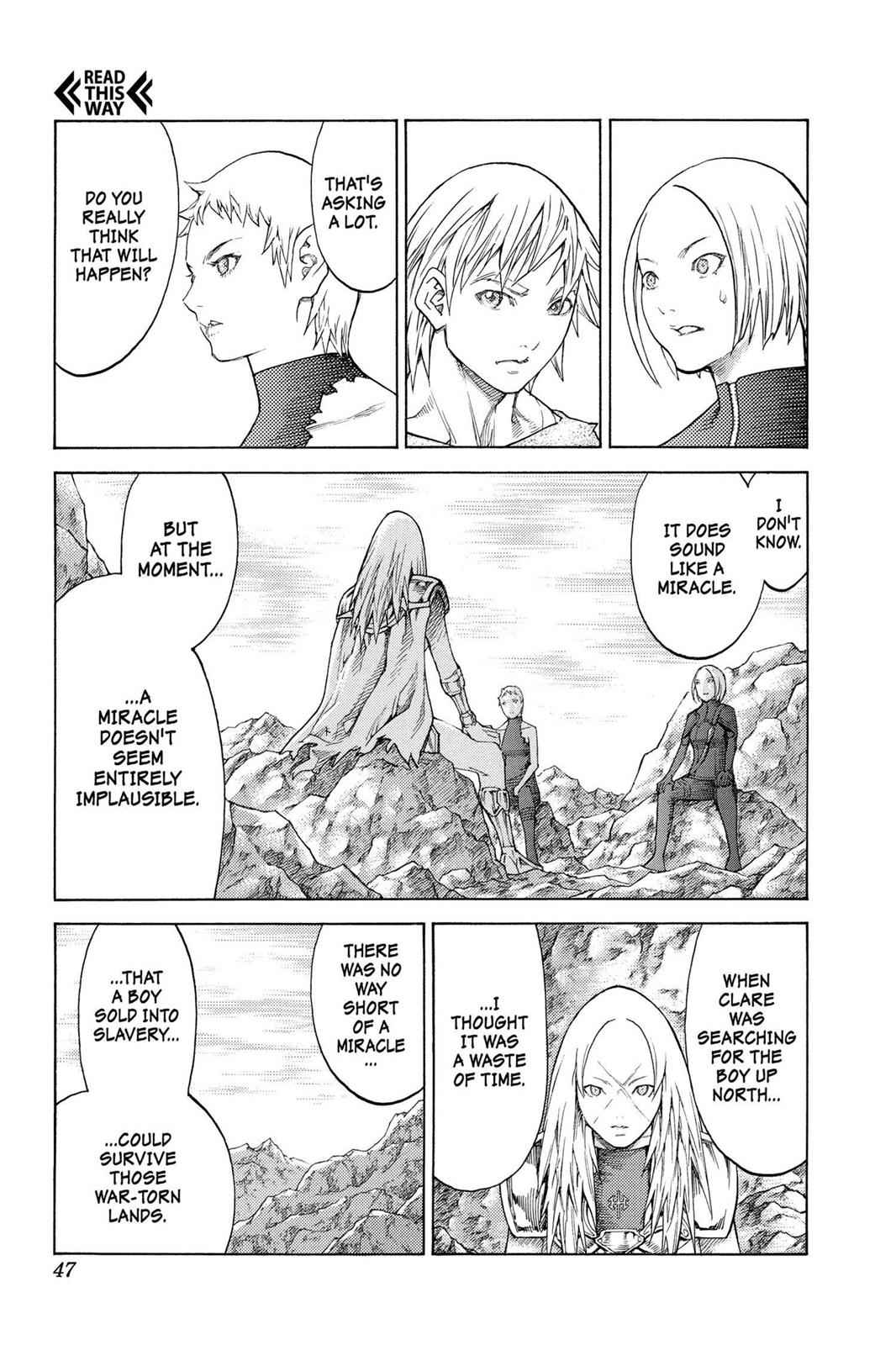 Claymore Chapter 127 Page 14