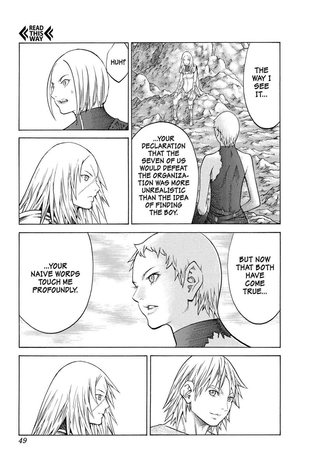 Claymore Chapter 127 Page 16