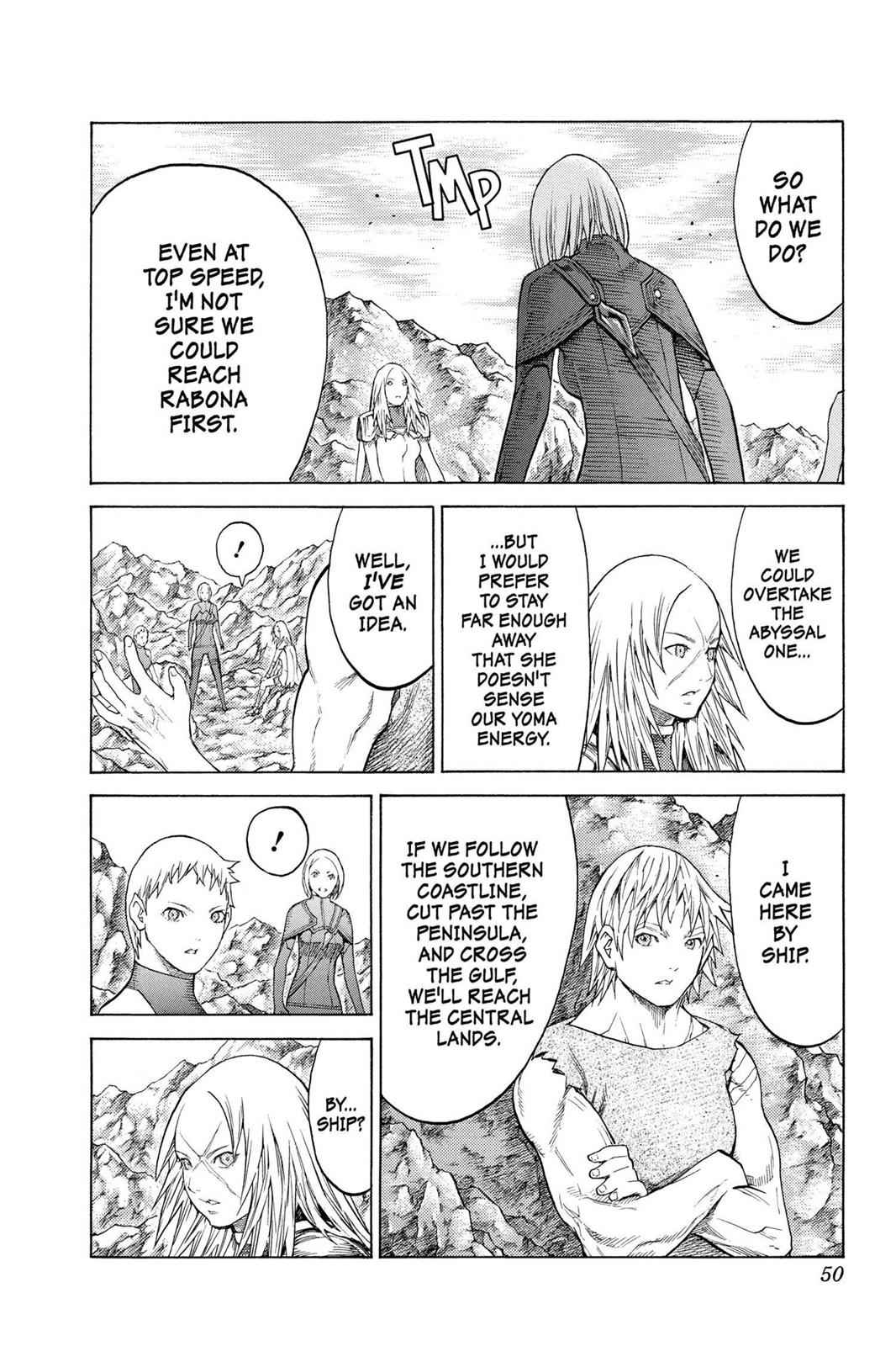 Claymore Chapter 127 Page 17