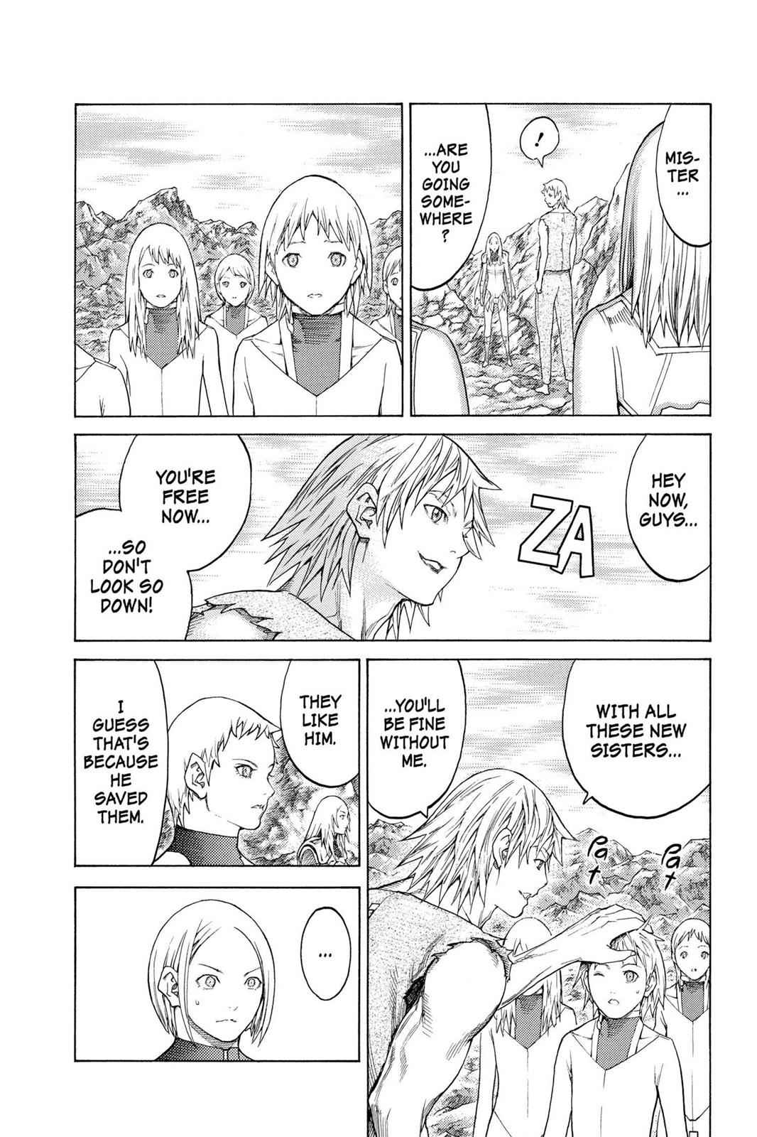 Claymore Chapter 127 Page 19