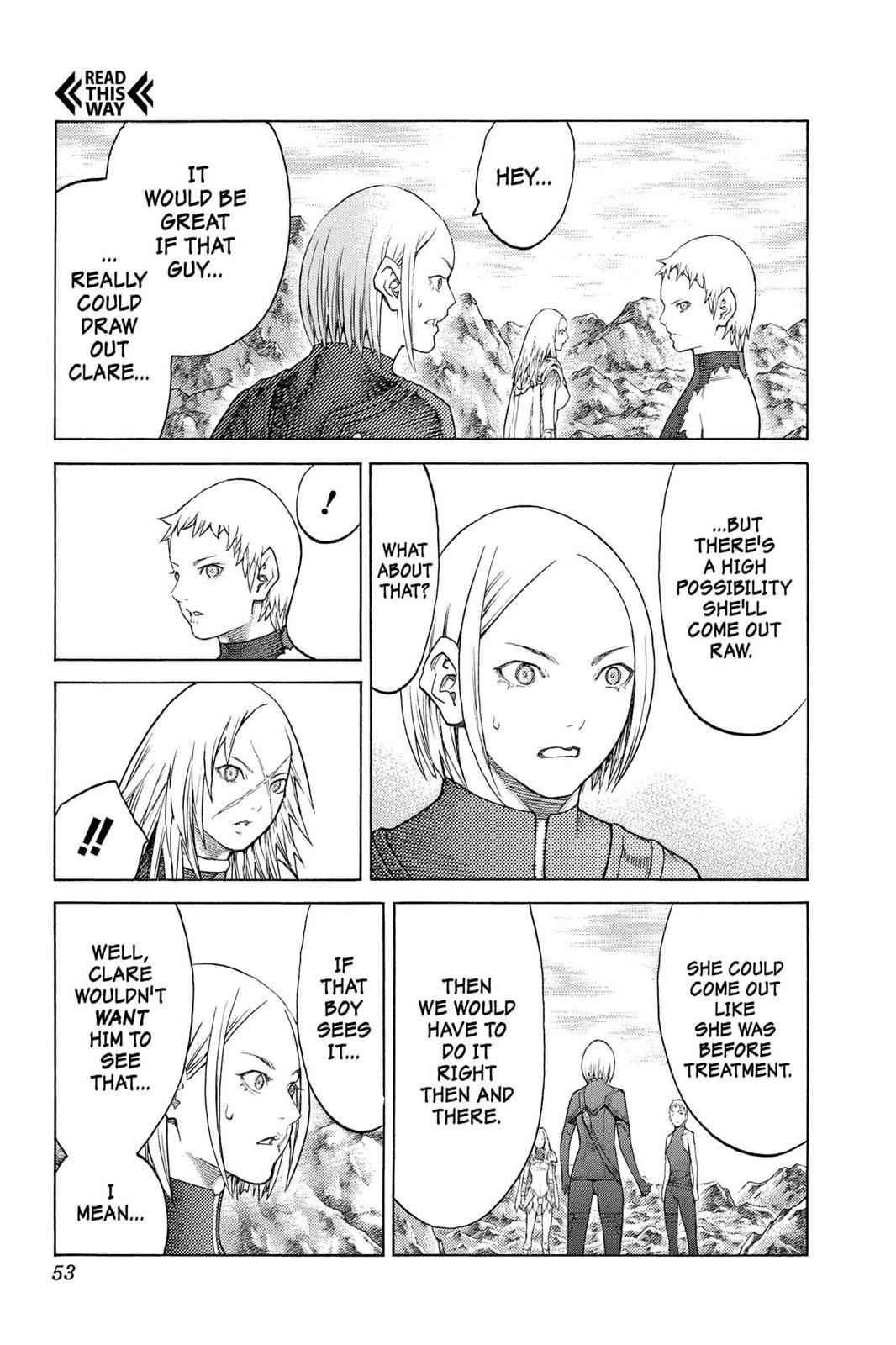 Claymore Chapter 127 Page 20