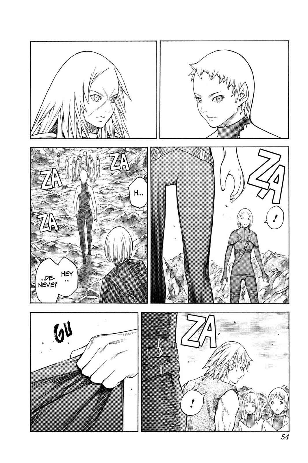 Claymore Chapter 127 Page 21