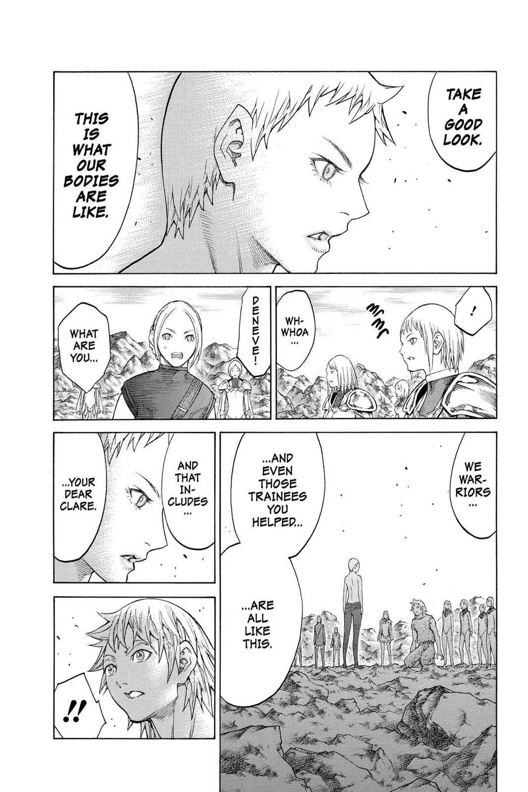 Claymore Chapter 127 Page 23