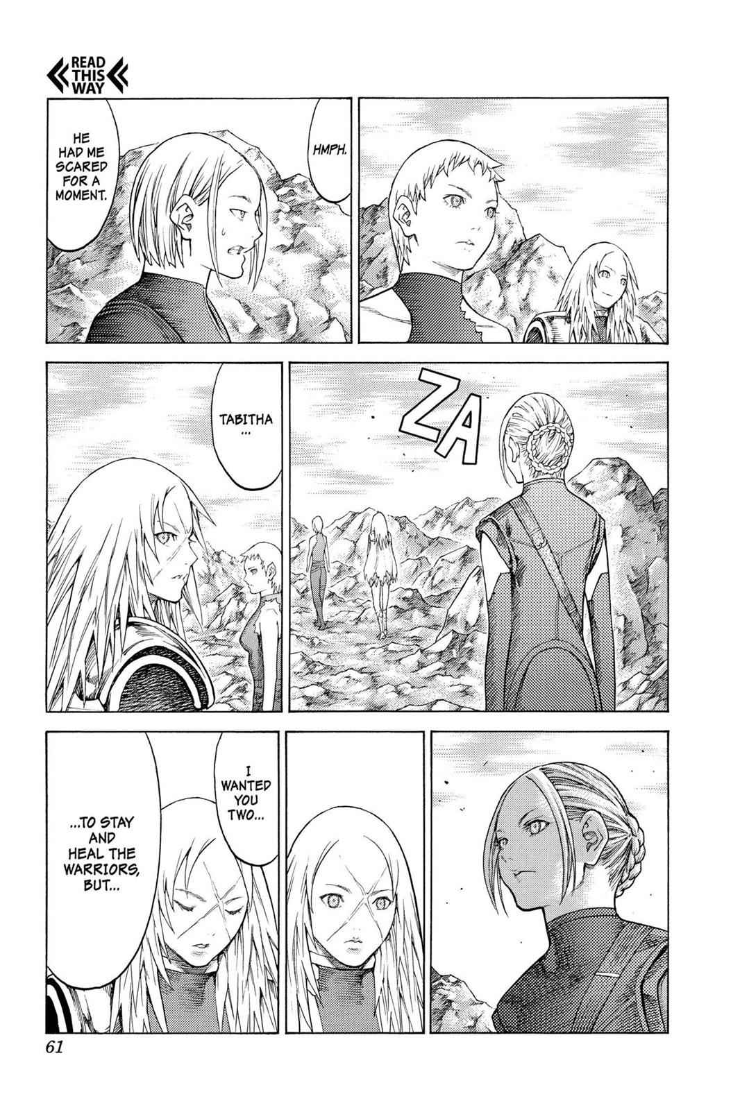 Claymore Chapter 127 Page 28