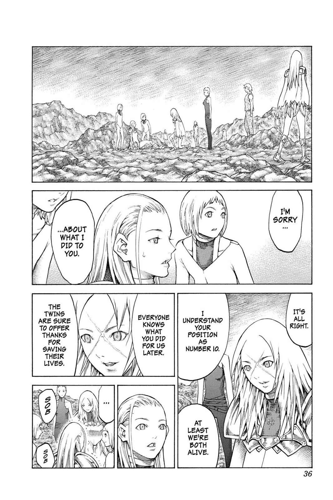 Claymore Chapter 127 Page 3