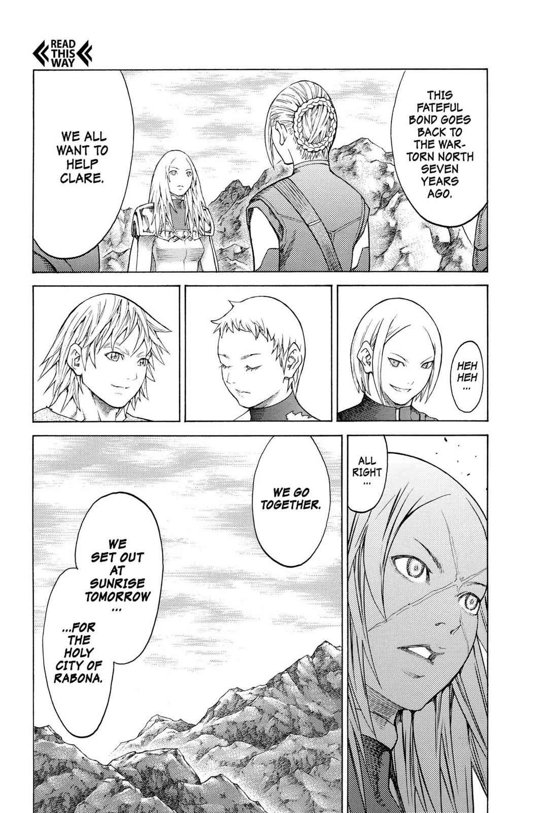 Claymore Chapter 127 Page 30