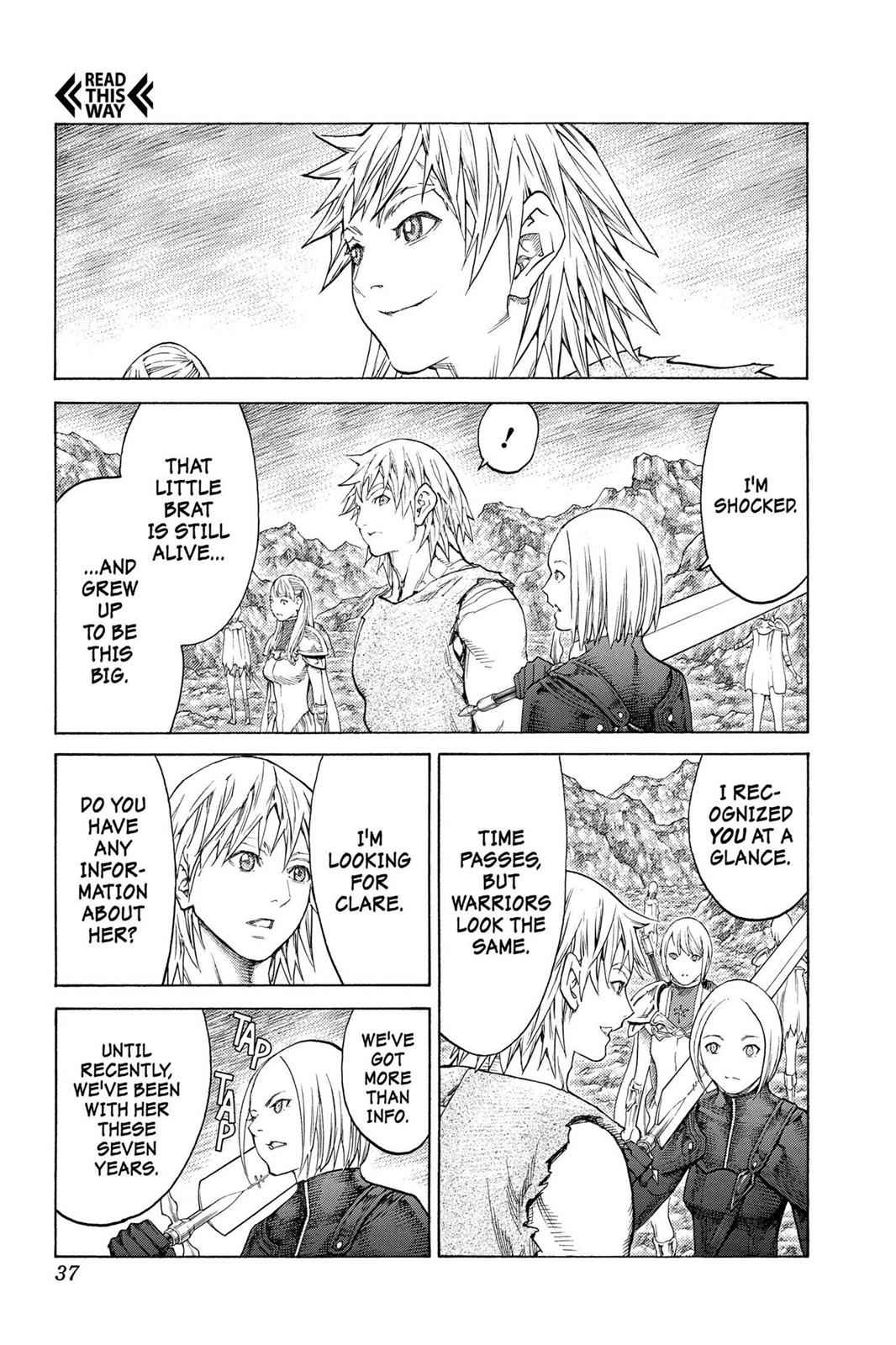 Claymore Chapter 127 Page 4