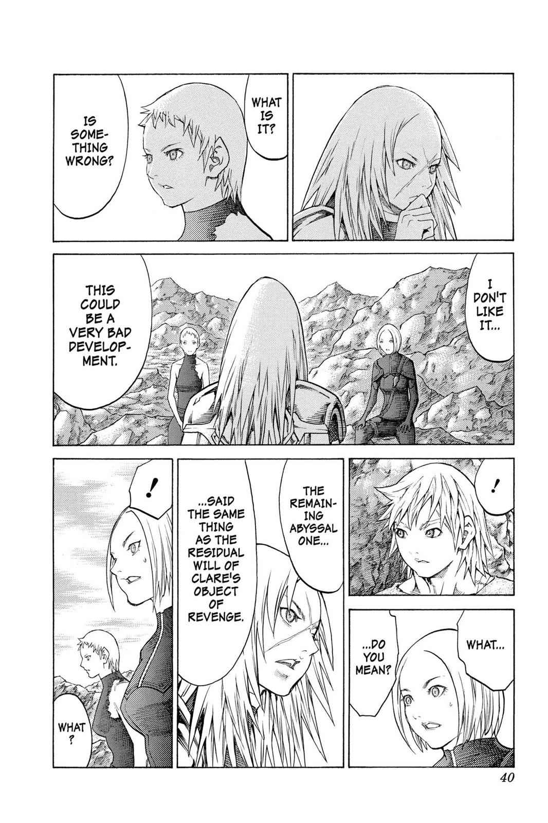 Claymore Chapter 127 Page 7