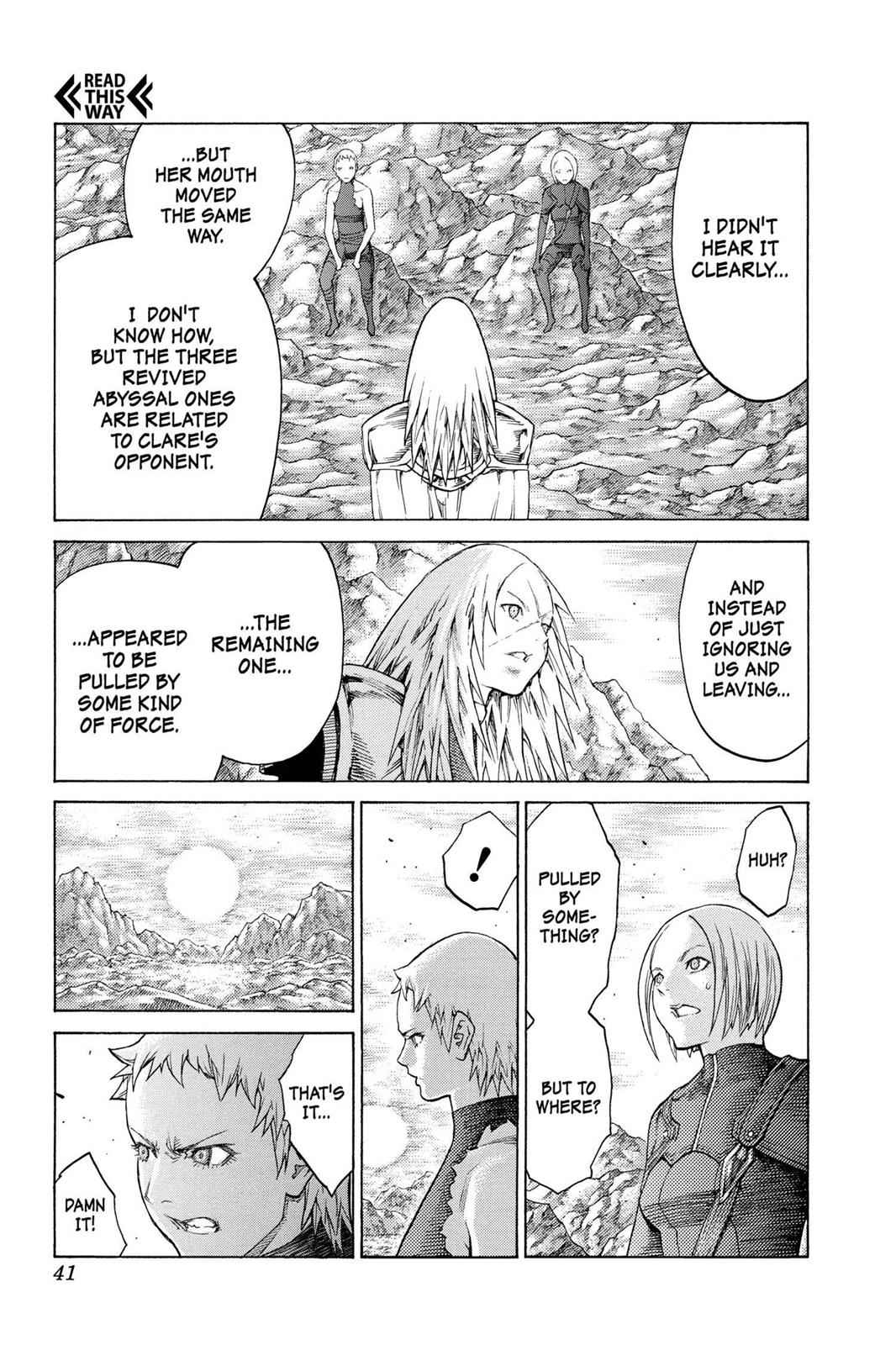Claymore Chapter 127 Page 8