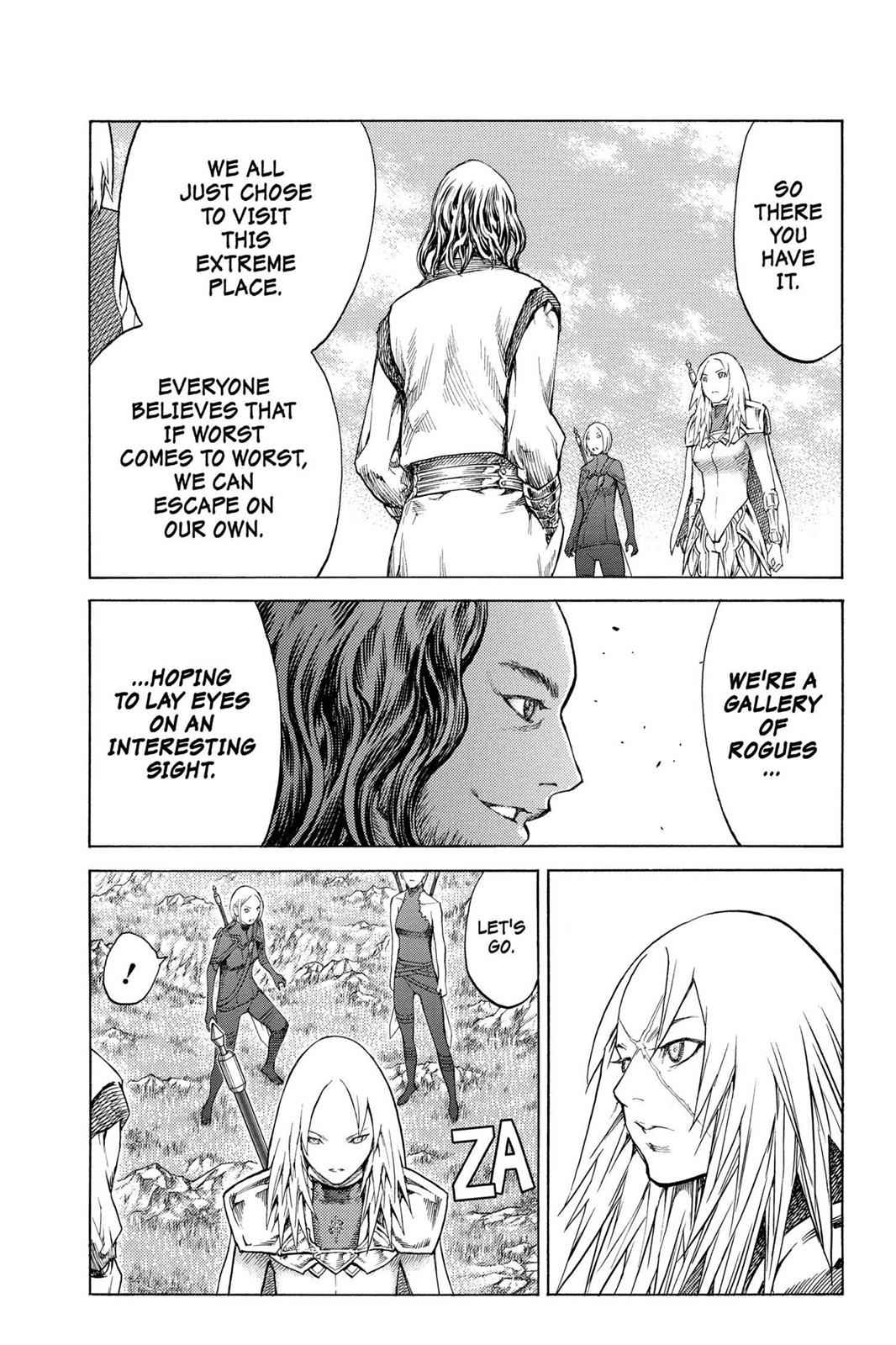 Claymore Chapter 128 Page 11