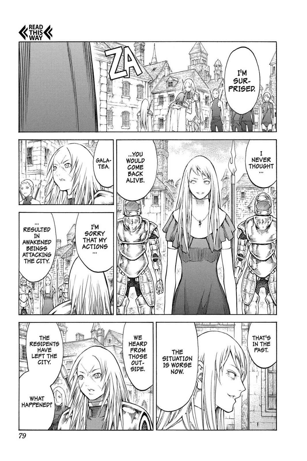 Claymore Chapter 128 Page 14