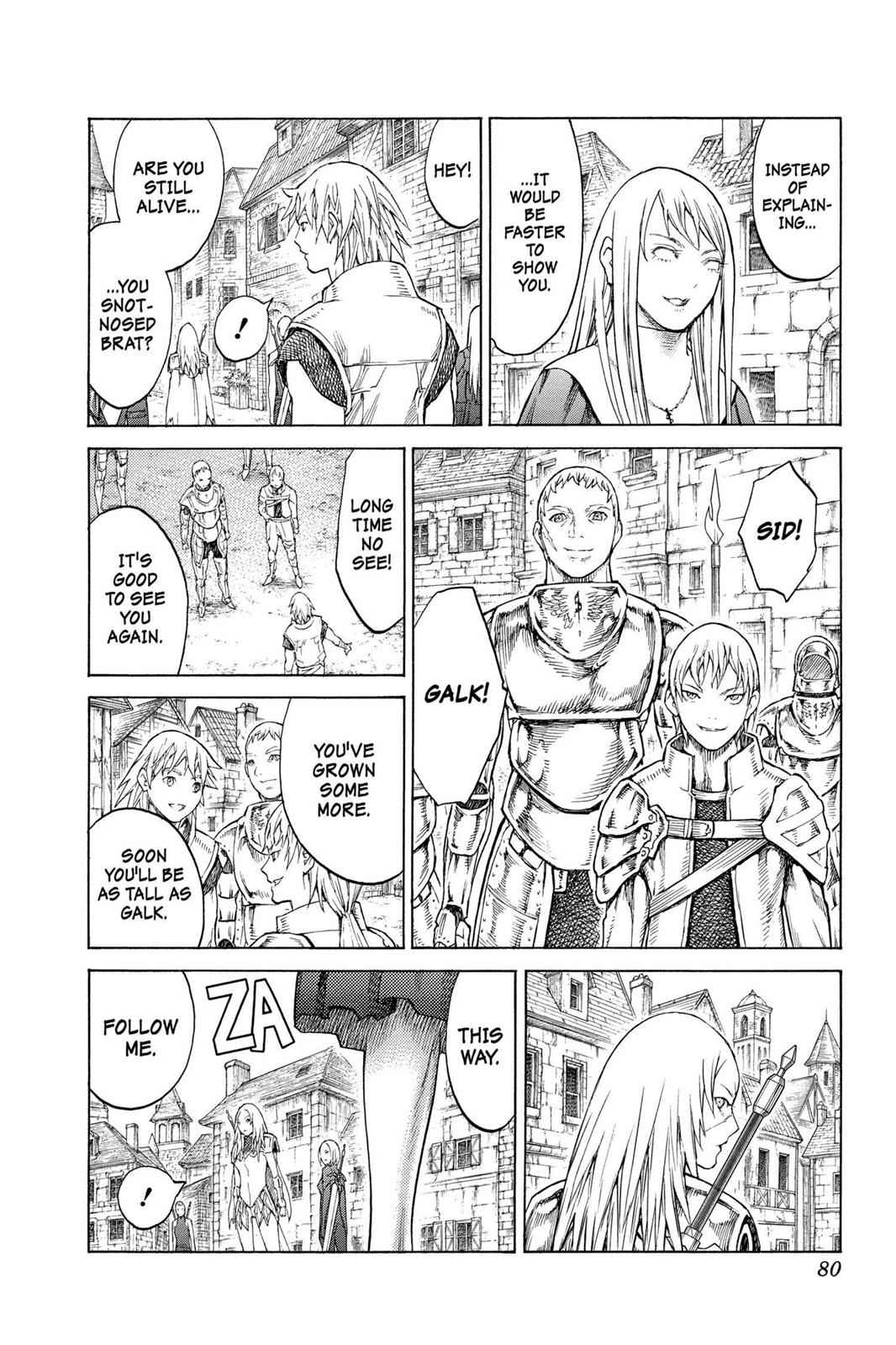 Claymore Chapter 128 Page 15
