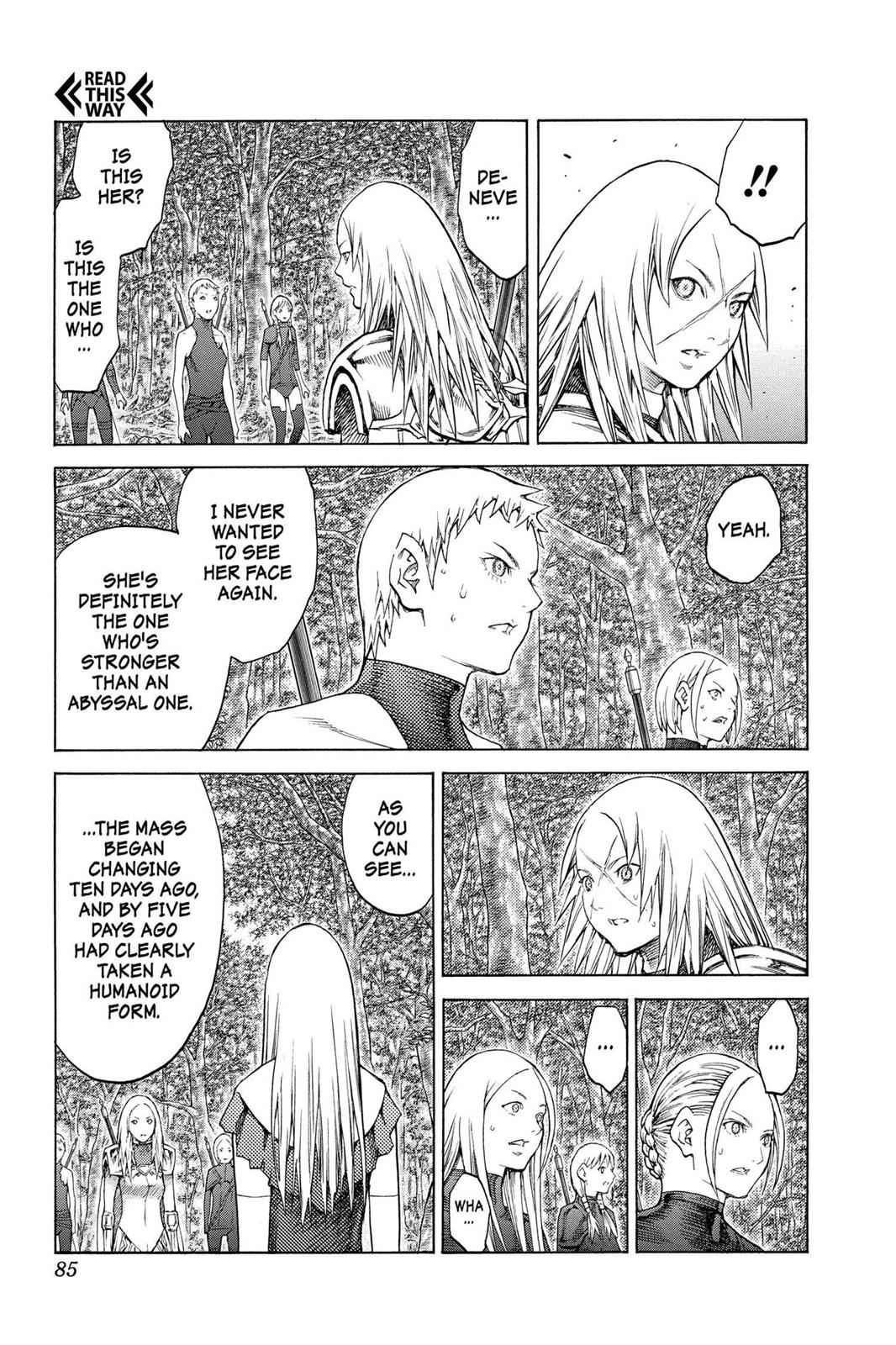 Claymore Chapter 128 Page 19